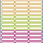 étiquette pour crayon TOP 3 image 1 produit