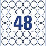 étiquette ronde 30mm TOP 7 image 1 produit