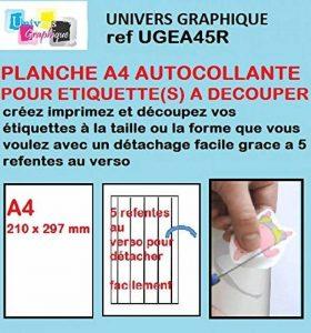 étiquette transparente à imprimer TOP 8 image 0 produit