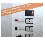 Étiquettes de 105 x 74 mm-transparent-résiste aux intempéries à a 4 comprenant 2 x 4/page folienetiketten 80 105 x 74 cm de la marque Printation image 3 produit