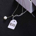 Étiquettes de Marquage Cadeau en Papier Étiquettes de Prix des Bijoux Strung Étiquette de Vêtements, 500 Pièces, 18 par 29 mm de la marque BBTO image 3 produit