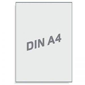 Étiquettes résistant aux intempéries 210 x 297 mm-blanc mat/4–1 a sur étiquette page 10 folienetiketten 297 x 210 de la marque Printation image 1 produit