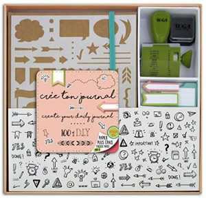 Toga KT74 Kit Bullet Journal Carnet Kraft 15, 5 x 21, 5 x 1, 5 cm de la marque Toga image 0 produit