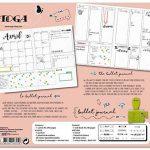 Toga KT74 Kit Bullet Journal Carnet Kraft 15, 5 x 21, 5 x 1, 5 cm de la marque Toga image 3 produit