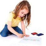 Tooky Toy - TKB832 - jouet de bois - puzzle avec un tampon encreur - toutes les lettres de A à Z - plaisir garanti - 29 x 21 x 2,5 cm de la marque Tooky Toy image 3 produit