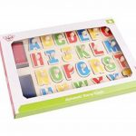 Tooky Toy - TKB832 - jouet de bois - puzzle avec un tampon encreur - toutes les lettres de A à Z - plaisir garanti - 29 x 21 x 2,5 cm de la marque Tooky Toy image 4 produit