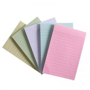 TOYMYTOY Notes Adhésives,Notes Autocollantes,Bloc-notes collant, 5pads(Jaune Vert Bleu Blanc Rose) de la marque TOYMYTOY image 0 produit