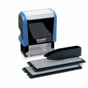 Trodat 4912 Réf 88564 Printy Kit tampon encreur avec encre, pince et lettres 3mm 4mm 4 Lignes de la marque Trodat image 0 produit