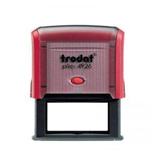 Trodat 4926texte Printy Tampon encreur de 7lignes Rouge de la marque Trodat image 0 produit