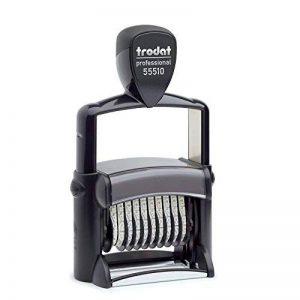 Trodat 55510 Professional Dateur 10positions Hauteur des caractères: 5mm Noir de la marque Trodat image 0 produit