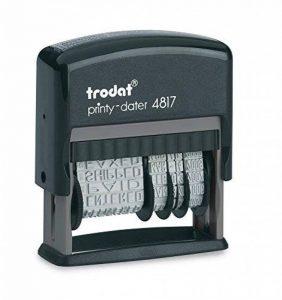 Trodat Dateur 4817A Tampon Noir de la marque Trodat image 0 produit