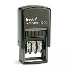 """trodat Datumstempel Printy Dater 4850L""""BEZAHLT"""", blau/rot de la marque Trodat image 0 produit"""
