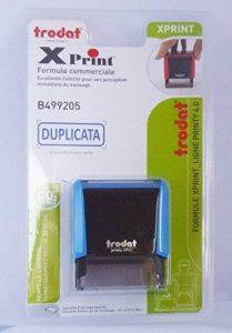 Trodat Formules commerciales Xprint 499205 Tampon Bleu de la marque Trodat image 0 produit