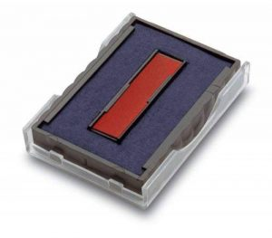 Trodat Pack de 2 Cassettes d'encrage 6/4750/2 Bleu/Rouge de la marque Wedo image 0 produit