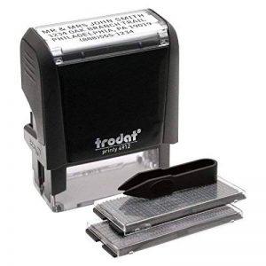 Trodat Printy 65% recyclé Do-It-Yourself personnalisés Tampon de la marque Trodat image 0 produit