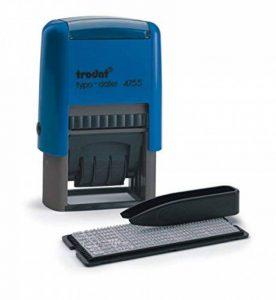 Trodat Printy Tampon auto-encreur personnalisable Texte et date Caractères 4mm de la marque Trodat image 0 produit