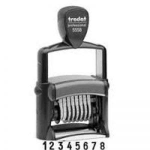 Trodat PROFESSIONAL 5558–8chiffres auto-encreur Numberer–5numéros de mm (0,5cm) de la marque XpressStamp image 0 produit
