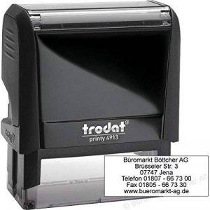 TRODAT Tampon autoinch printy4913Eco Bleu de la marque Trodat image 0 produit