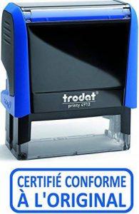 Trodat Tampon encreur X-Print Bleu de la marque Trodat image 0 produit