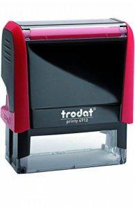 """TRODAT TAMPON X-PRINT FORMULE """"COPIE"""" - Boîtier Rouge, Encrage Rouge de la marque Trodat image 0 produit"""