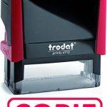 """TRODAT TAMPON X-PRINT FORMULE """"COPIE"""" - Boîtier Rouge, Encrage Rouge de la marque Trodat image 2 produit"""