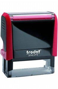 """TRODAT TAMPON X-PRINT FORMULE"""" PAYE"""" - Boîtier Rouge, Encrage Rouge de la marque Trodat image 0 produit"""