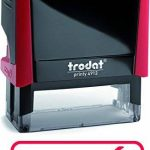 """TRODAT TAMPON X-PRINT FORMULE"""" PAYE"""" - Boîtier Rouge, Encrage Rouge de la marque Trodat image 2 produit"""