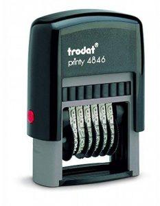 Trodat Timbre numéroteur à encrage automatique Printy 4mm de la marque Trodat image 0 produit