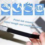 TZe-231 Ruban laminé, rubans d'étiquettes, Cartouche Cassette Compatible Brother Noir sur Blanc 12 mm x 8m Convient Pour P-Touch 1000W 1010 1090 1830VP 2030VP 2100VP 2430PC 2470 2730VP 7100 VP7600VP H100R H300 D200VP (5 Pack) de la marque colorty image 2 produit