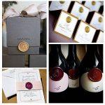 Uniqooo Arts & Crafts 12Pistolet à colle Bronze Bâtons de cire d'étanchéité pour cire Tampon Idéal pour cartes enveloppes, Invitation de mariage, vin de l'emballage, idée de cadeau de la marque UNIQOOO image 2 produit