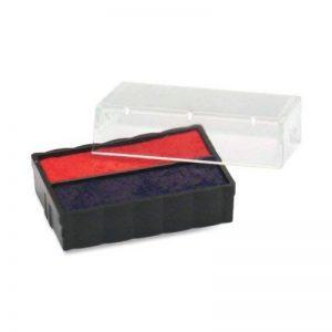 """USSP4850BR-U. S. cachet &Sign P4850BR Trodat-Tampon dateur T4850 de rechange 3/16 """"x 1/rouge/bleu de la marque U.S. Stamp & Sign image 0 produit"""