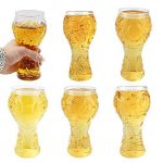 Verre à Bière Coupe du Monde 2018 Russie FIFA Tasse de bière chope de bière Bouteille bière créative Coupe des Champions Bars Verre de bière, Les Restaurants etc 75 * 65 * 155mm de la marque RUNFON image 1 produit
