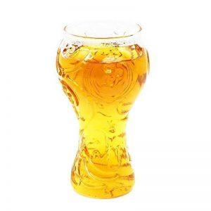 Verre à Bière Coupe du Monde 2018 Russie FIFA Tasse de bière chope de bière Bouteille bière créative Coupe des Champions Bars Verre de bière, Les Restaurants etc 75 * 65 * 155mm de la marque RUNFON image 0 produit