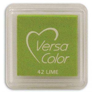 Versasmall VersaColor Tampon encreur petit cube 25 × 25 mm Pigment Citron Vert de la marque Versasmall image 0 produit