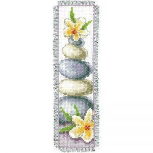 Vervaco, Kit Point De Croix Compté, Marque-Page Fleurs de Frangipanier, Multi-Couleurs de la marque Vervaco image 0 produit