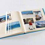 Walther Album photo autocollant Fun Design Album photo, structure Couverture, noir, 33x 33,5cm de la marque Walther image 1 produit