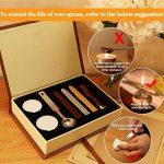 Wax Cire épilation Sceau à Kit absofine Vintage Adhesive avec ensemble de clé Cuillère Bougies Boîte Cadeau de la marque Absofine image 4 produit