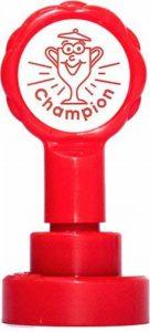 Xclamations X11872 Tampon Auto-encreur pour Enseignant Champion Couleur Alétoire de la marque Xclamations image 0 produit